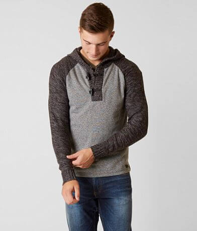 Outpost Makers Heathered Henley Sweater