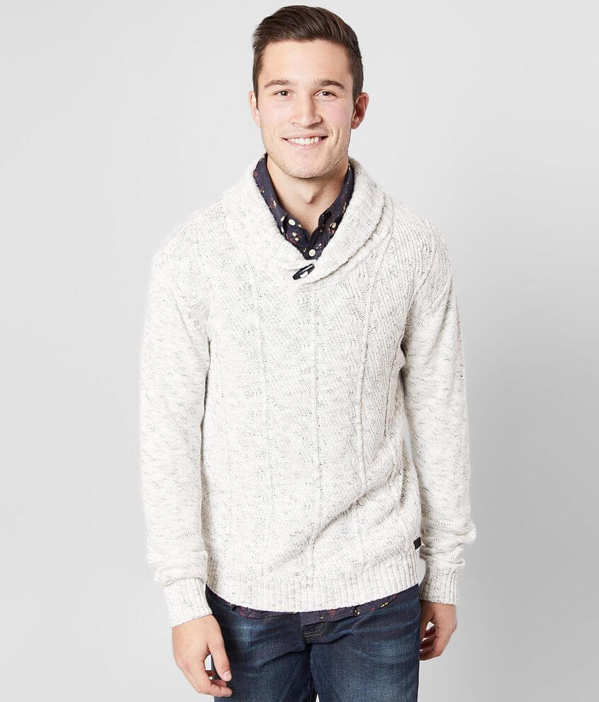 Outpost Makers Shawl Neck Sweater front view