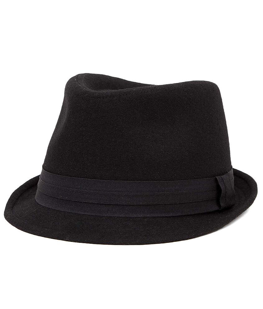BKE Wool Blend Fedora Hat front view