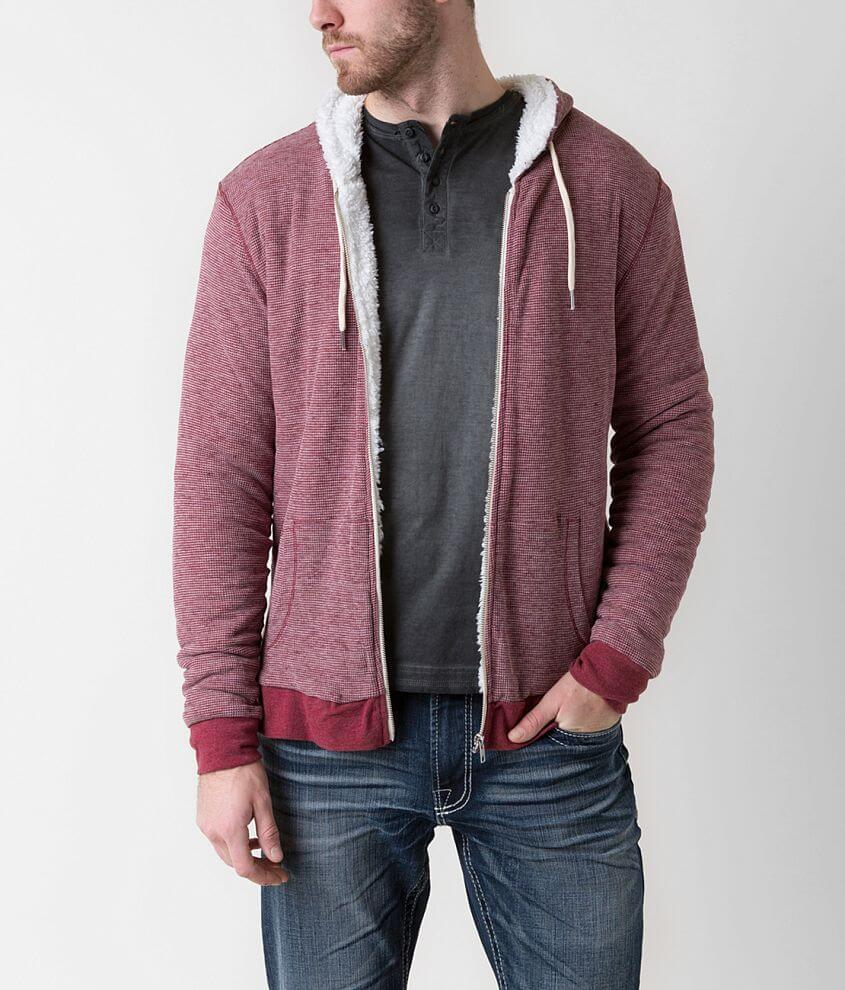 Threads 4 Thought Hooded Thermal Sweatshirt front view