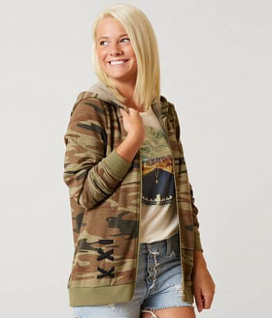 Modish Rebel Camo Sweatshirt