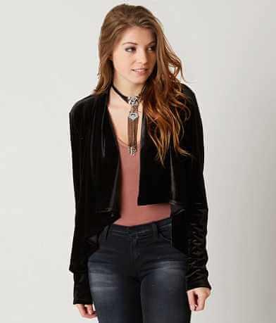 Mimi Chica Velvet Blazer