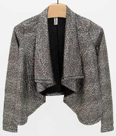 Mimi Chica Gold Foiled Blazer