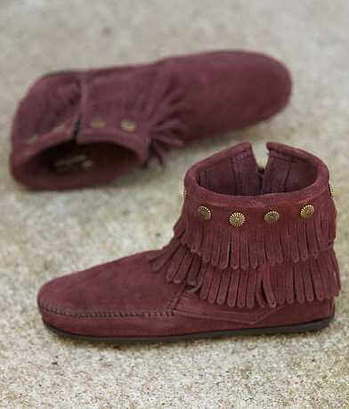 Minnetonka Double Fringe Ankle Boot