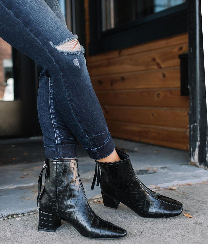 Mi.iM Embossed Trend Ankle Boot front view