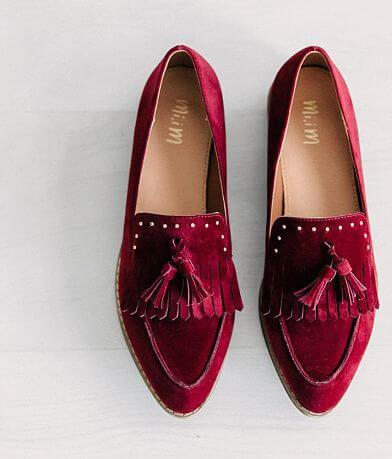 Mi.iM Velvet Loafer Shoe