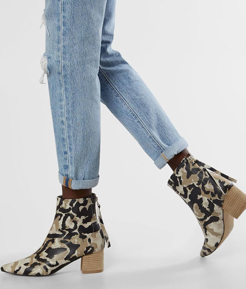 Mi.iM Camo Ankle Boot front view