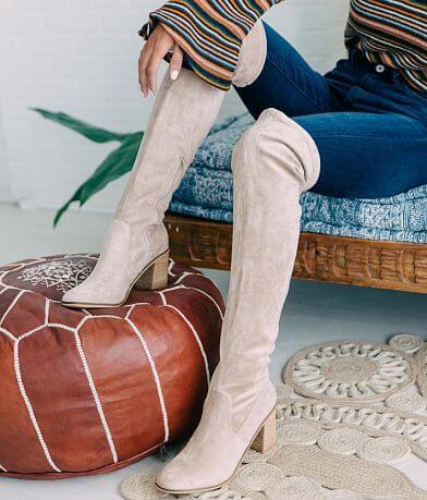Mi.iM Velvet Knee High Boot