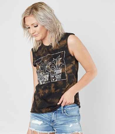 Modish Rebel Sleeveless T-Shirt