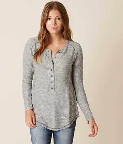Daytrip French Terry Henley Top