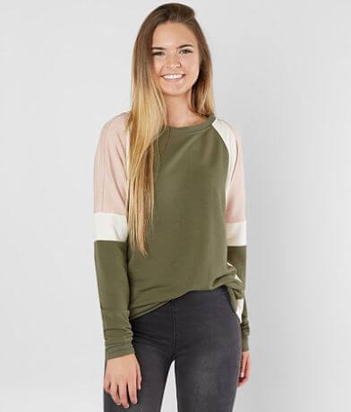 FITZ + EDDI Color Block Sweatshirt