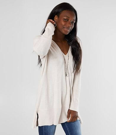 BKE Brushed Knit Tunic Top