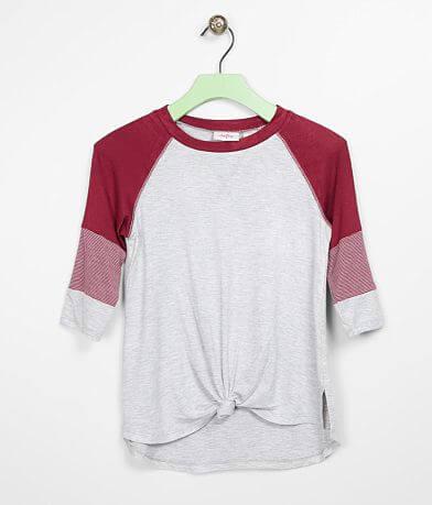 Girls - Daytrip Color Block Sleeve Top