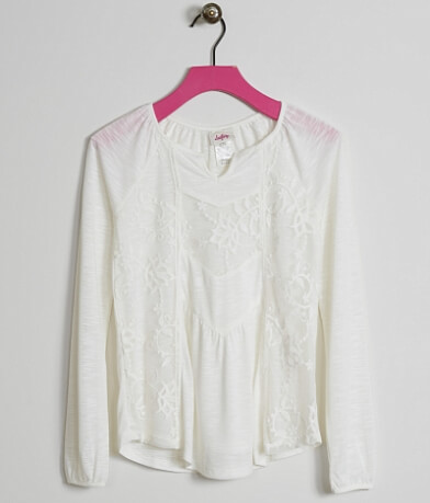 Girls - Daytrip Embroidered Top