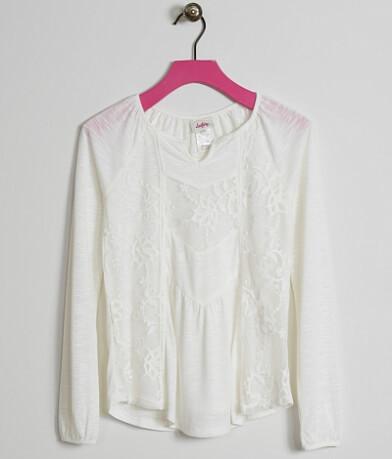 Girls - Daytrip Embroidered Top