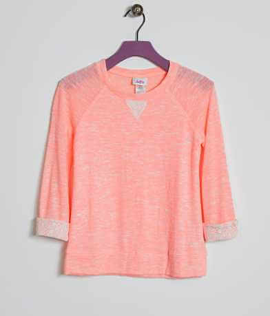 Girls - Daytrip Marled Top