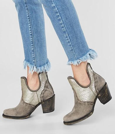 Miss Macie Hush Ur Mouth Leather Ankle Boot