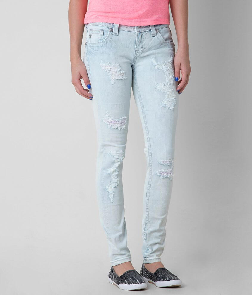 Miss Me Mid-Rise Ankle Skinny Stretch Jean front view