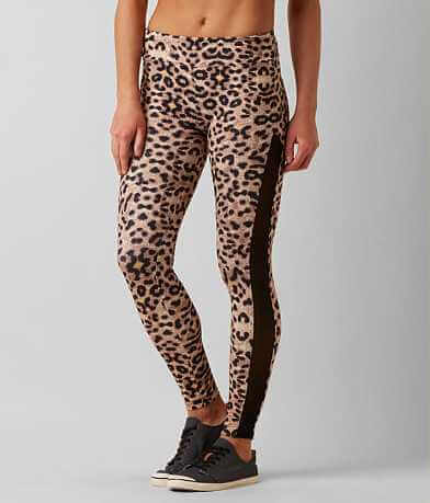 Miss Me Cheetah Active Tights