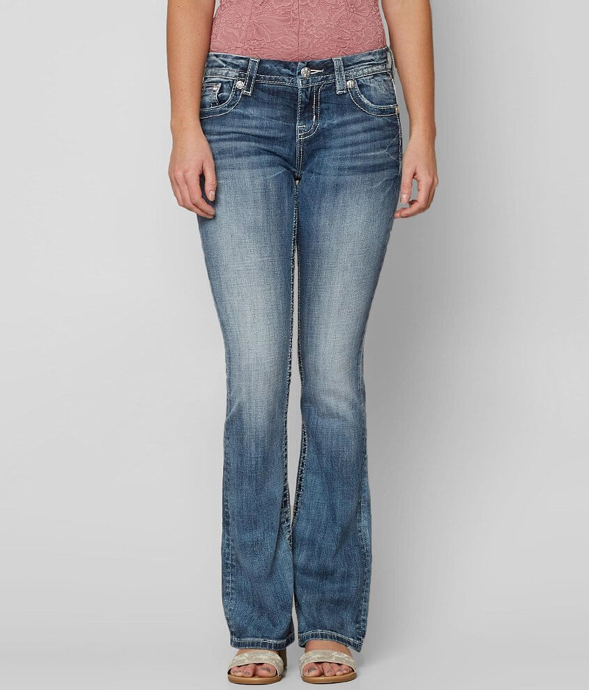 Miss Me Easy Boot Stretch Jean Womens Jeans In Mk 813 Buckle