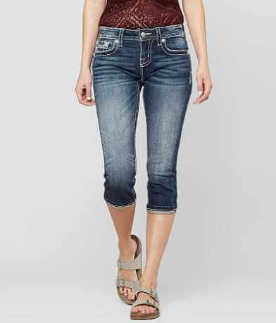 Miss Me Standard Cropped Stretch Jean