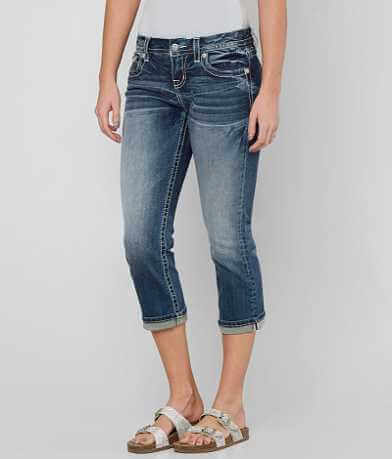 Miss Me Easy Stretch Cropped Jean
