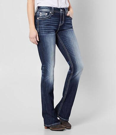 Miss Me Mid-Rise Curvy Boot Stretch Jean