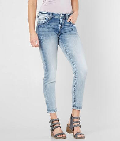 Miss Me Easy Ankle Skinny Stretch Jean