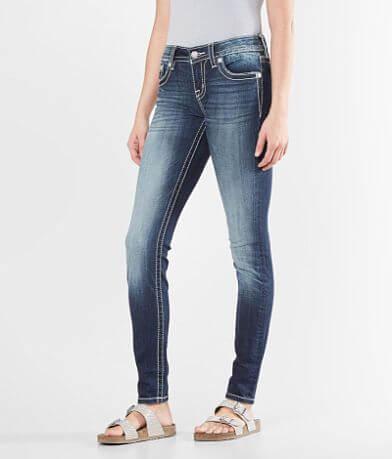 Miss Me Standard Mid-Rise Skinny Stretch Jean