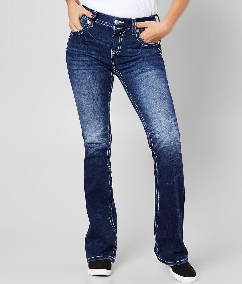 Miss Me Mid-Rise Easy Boot Stretch Jean