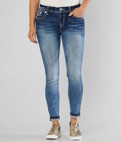 Miss Me Mid-Rise Easy Ankle Skinny Stretch Jean