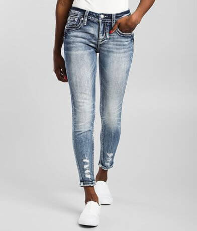 Miss Me Mid-Rise Ankle Skinny Stretch Jean