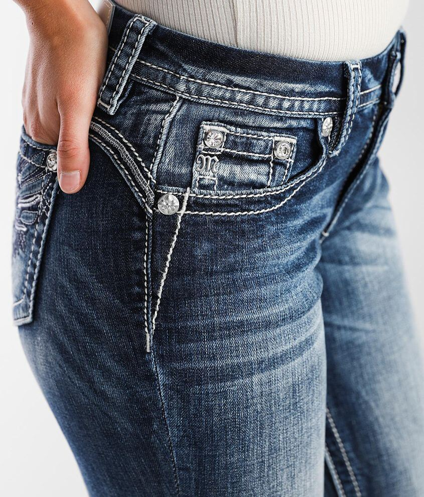Miss Me Curvy Boot Stretch Jean front view