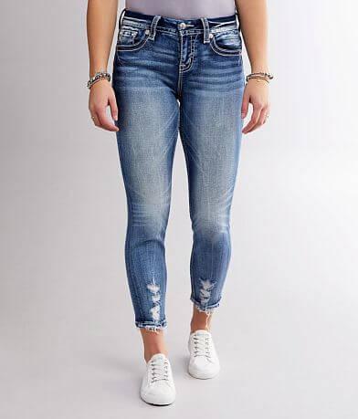 Miss Me Curvy Ankle Skinny Stretch Jean
