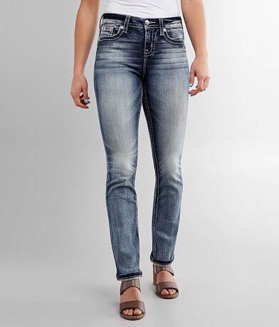 Miss Me Curvy Straight Stretch Jean