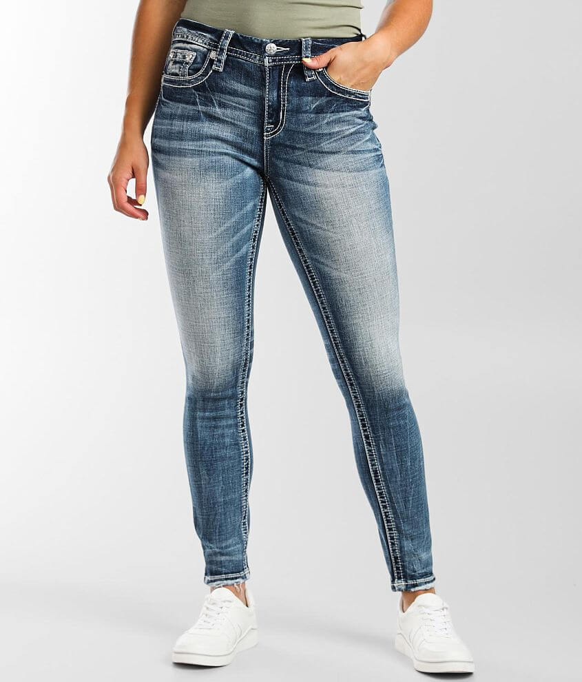 Miss Me Curvy Skinny Stretch Jean front view