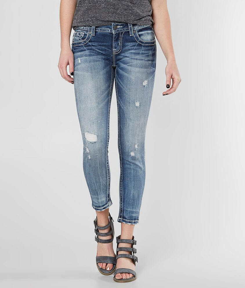 Miss Me Select Standard Ankle Skinny Stretch Jean front view