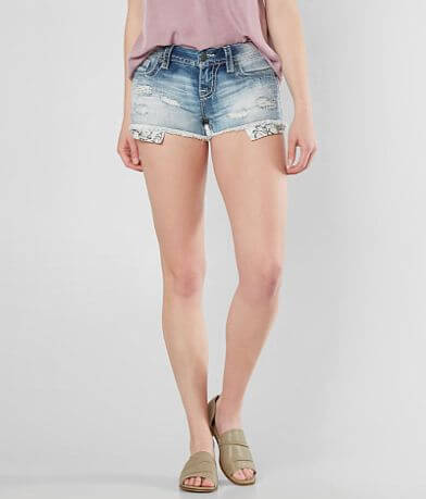 Miss Me Select Signature Stretch Short