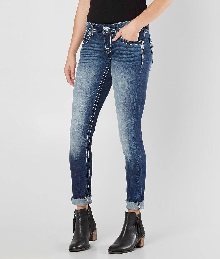 Miss Me Signature Ankle Skinny Stretch Jean front view