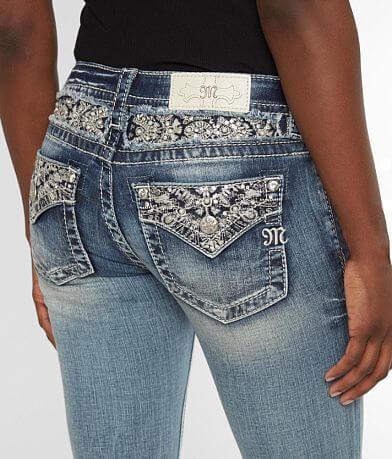 Miss Me Signature Straight Stretch Cuffed Jean