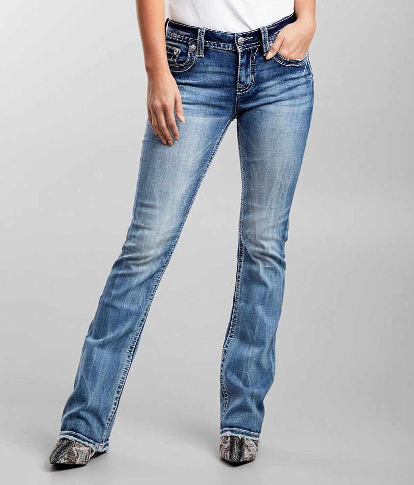 Miss Me Low Rise Boot Stretch Jean