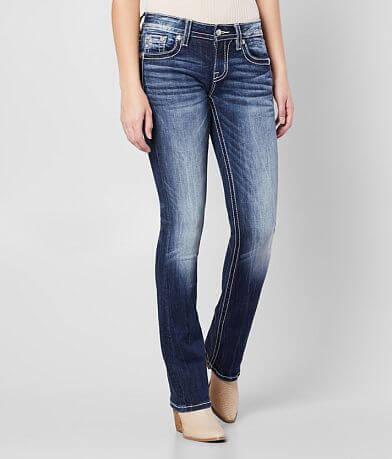 Miss Me Low Rise Slim Boot Stretch Jean