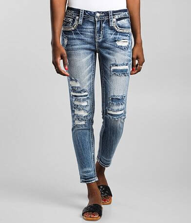 Miss Me Low Rise Ankle Skinny Stretch Jean
