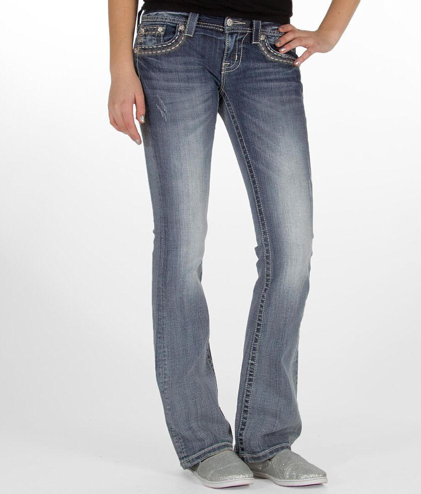 Miss Me Glitz Boot Stretch Jean front view