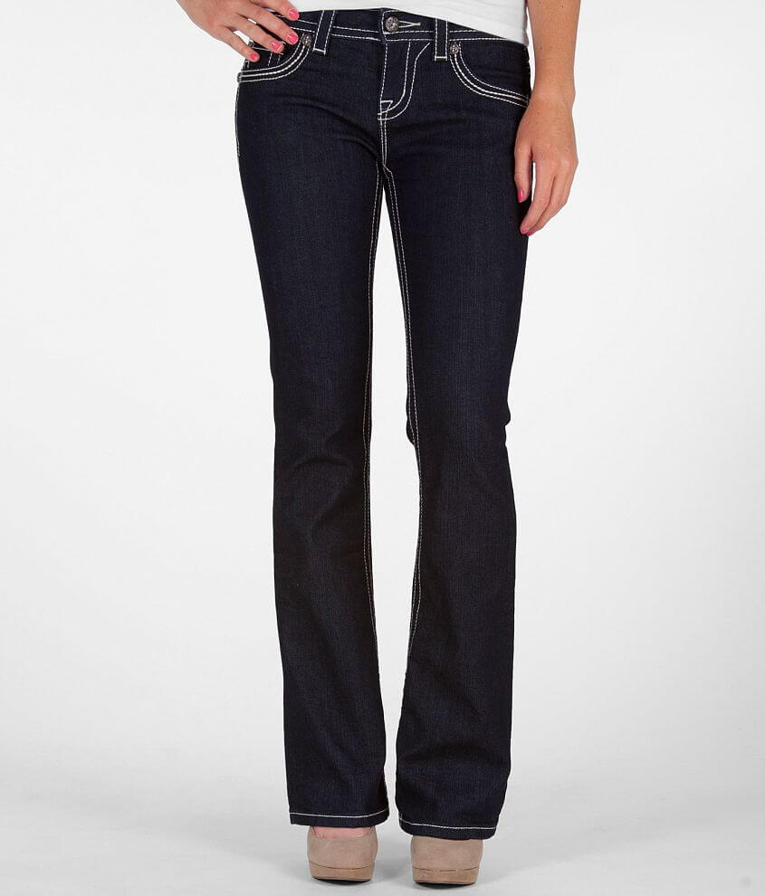 21230f727bacf7 Miss Me Mixed Hardware Easy Boot Stretch Jean - Women's Jeans in DK ...