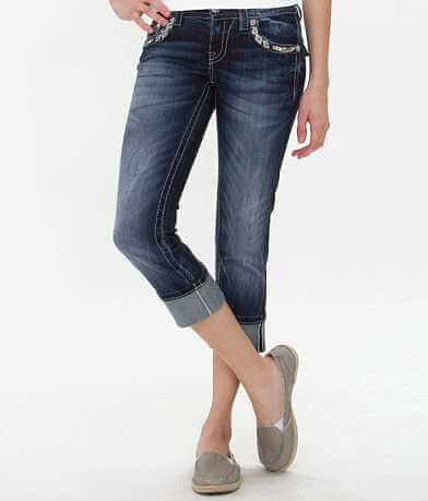 Miss Me Stretch Cropped Jean