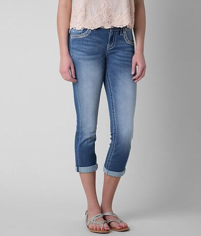 Miss Me Mid-Rise Cropped Stretch Jean