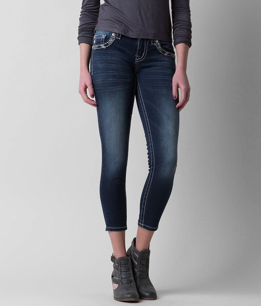 Miss Me Stretch Cropped Jean front view