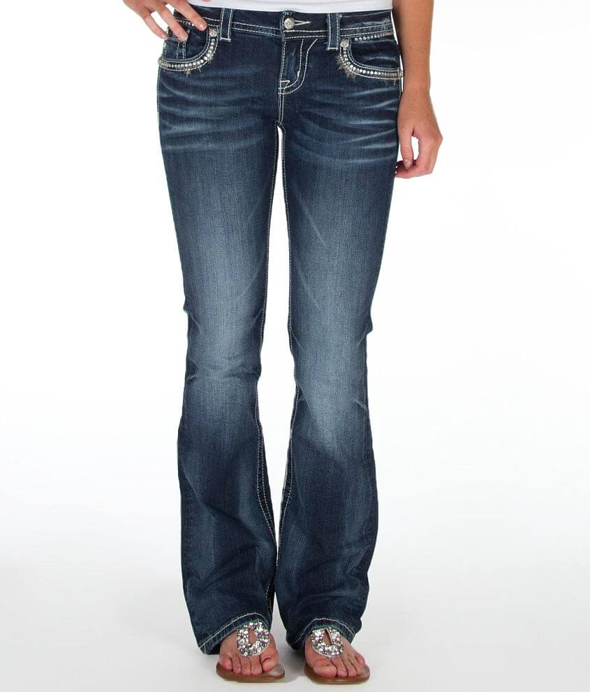 Miss Me Easy Boot Stretch Jean front view