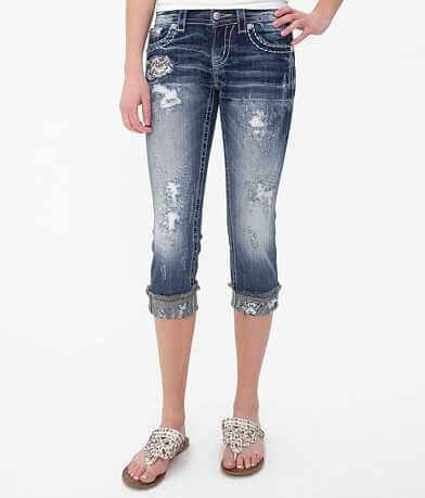 Miss Me Cropped Stretch Jean